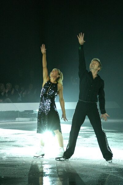 Jayne Torvill and Christopher Dean performing on the Dancing On Ice Tour at Birmingham NIA - 31 March 2007 FAM19958