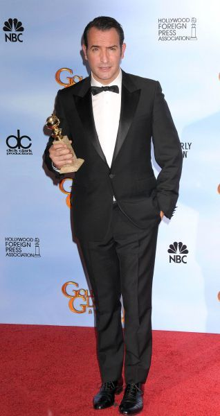 Jean Dujardin at the 69th Annual Golden Globe Awards press room presented by the Hollywood Foreign Press Association at Hotel Beverly Hilton in Los Angeles - 15 January 2012 13 HARWOOD ROAD LONDON SW6 4QP  UNITED KINGDOM  FAM43674