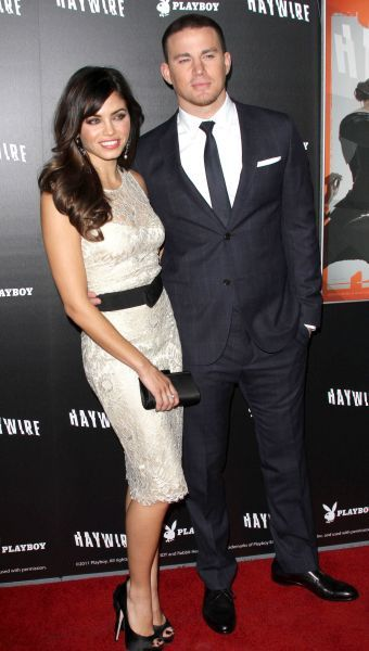 Jenna Dewan and Channing Tatum at the premiere of 'Haywire' at the Directors Guild in Los Angeles, California - 05 January 2012 FAMOUS PICTURES AND FEATURES AGENCY  13 HARWOOD ROAD LONDON SW6 4QP  UNITED KINGDOM  tel 0  fax 0  e-mail    FAM43610