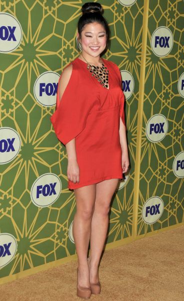 Jenna Ushkowitz at Fox's All-Star Party at Castle Green in Pasadena, California - 08 January 2012 FAM43627