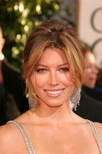 Jessica Biel at the 64th Golden Globe Awards held at the Beverly Hilton Hotel in Los Angeles - 15 January 2007 FAM19402