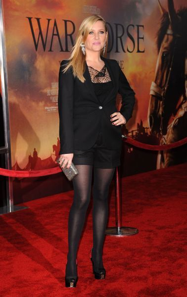 Jessica Capshaw at the premiere of 'War Horse' in New York City - 04 December 2011 FAMOUS PICTURES AND FEATURES AGENCY 13 HARWOOD ROAD LONDON SW6 4QP UNITED KINGDOM tel 0 fax 0 e-mail  FAM43416