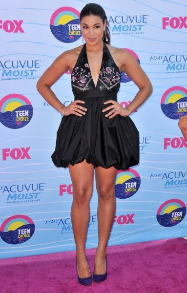 Jordin Sparks at the 2012 Teen Choice Awards in Los Angeles - 22 July 2012 FAMOUS  PICTURES AND FEATURES AGENCY  13 HARWOOD ROAD LONDON SW6 4QP  UNITED KINGDOM  FAM45710