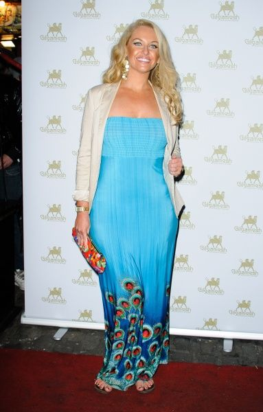 Josie Gibson at the Amy Childs SS12 Clothing Collection launch at Gilgamesh in London - 19 March 2012 FAM44288