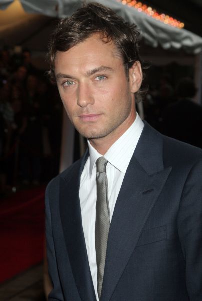 Jude Law at the premie... Jude Law And Order