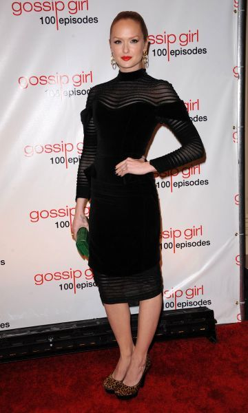 Kaylee DeFer at the Gossip Girl 100th episode party at Cipriani Wall Street in New York City - 19 November 2011 FAM43268