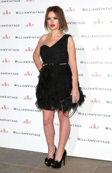 Kiersten Wareing at the Gillian Anderson and William Vintage BAFTA dinner at St Pancras Renaissance Hotel in London - 10 February 2012 FAM43902