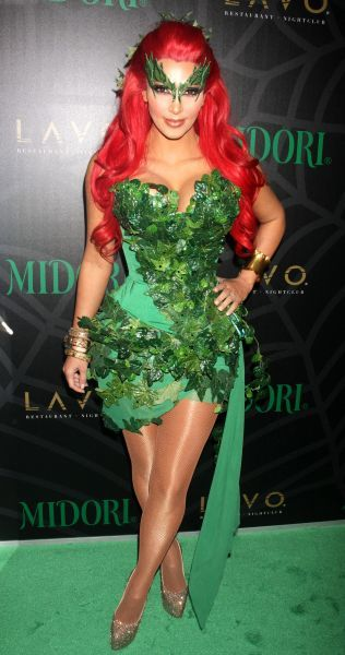 Kim Kardashian at the Midori Green Halloween costume party at Lavo in New York City - 29 October 2011 FAMOUS PICTURES AND FEATURES AGENCY 13 HARWOOD ROAD LONDON SW6 4QP UNITED KINGDOM tel 0 fax 0 e-mail  FAM42981