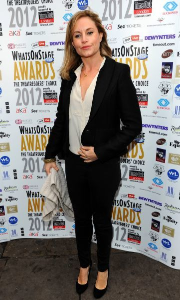 Kim Metcalfe at the WhatsonstageTheatregoers' Choice Awards?Press Launch and Nominations Announcement at Cafe de Paris in London - 02 December 2011  FAM43415