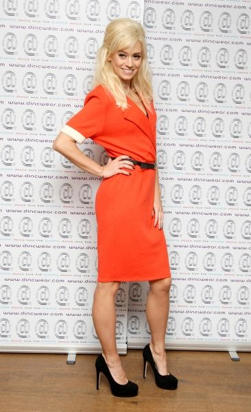Kimberly Wyatt at the launch of her new dance-inspired clothing line, D.inc.Wear, in London - 07 March 2012 FAM44172