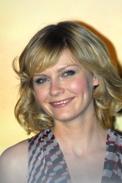 Kirsten Dunst at the Italian premiere of Spiderman 3 in Rome - 24 April