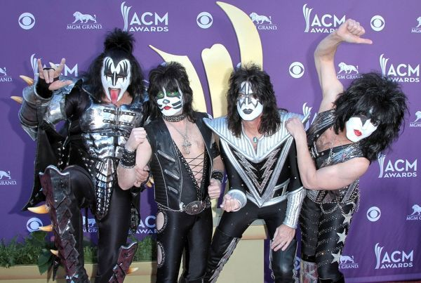 Kiss at the 47th Academy of Country Music Awards in Las Vegas - 01 April 2012FAM44466