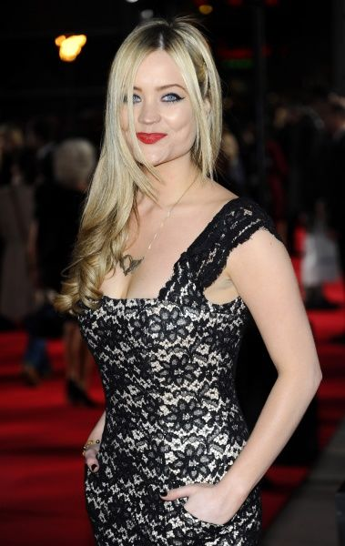 Laura Whitmore at the premiere of 'The Hunger Games' held at the O2 in