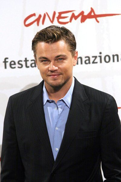 "Leonardo DiCaprio at the photocall of ""The Departed"" at Rome International Film Festival - 15 October 2006 FAMOUS PICTURES AND FEATURES AGENCY 13 HARWOOD ROAD LONDON SW6 4QP UNITED KINGDOM tel 0 fax 0 e-mail FAM18753"