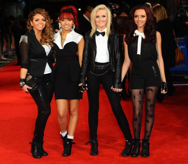 Little Mix at the Royal film performance of 'Hugo' at The Odeon Leicester Square in London - 28 November 2011 FAM43357
