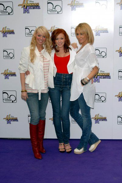 "Liz McClarnon, Natasha Hamilton and Jenny Frost of Atomic Kitten Atomic Kitten at Disney's ""Hannah Montana Live In London"" TV Special at Koko in Camden High Street, London - 28 March 2007 FAMOUS PICTURES AND FEATURES AGENCY 13"