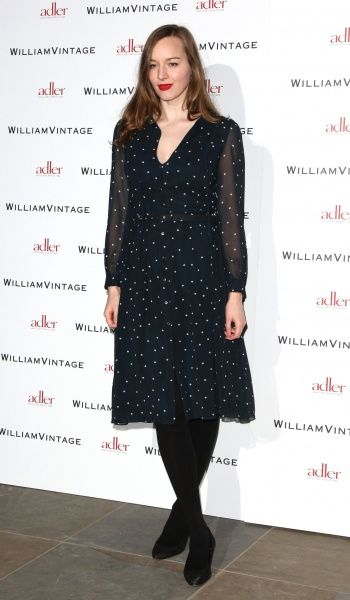 Lou Hayter of the New Young Pony Club at the Gillian Anderson and William Vintage BAFTA dinner at St Pancras Renaissance Hotel in London - 10 February 2012 FAM43902