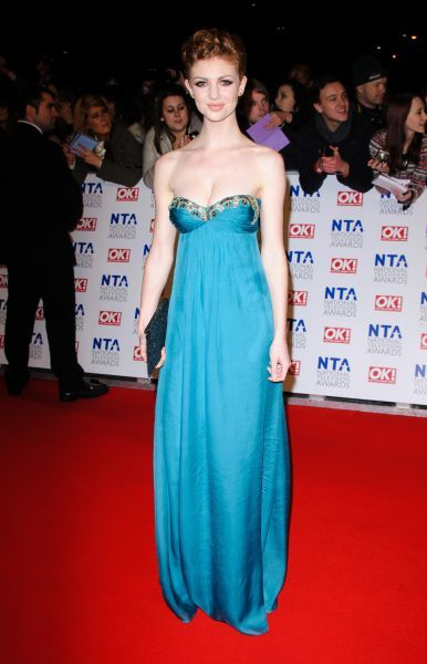 Lucy Dixon at the National Television Awards held at the O2 Arena in London