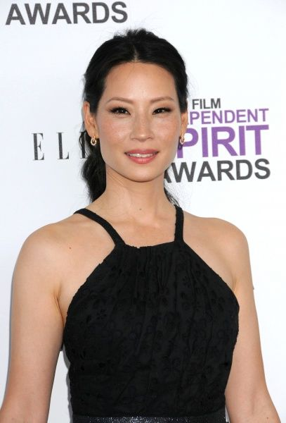 Lucy Liu at the 2012 Film Independent Spirit Awards held on the beach in Santa Monica, California - 25 February 2012 13 HARWOOD ROAD LONDON SW6 4QP  UNITED KINGDOM  FAM44071