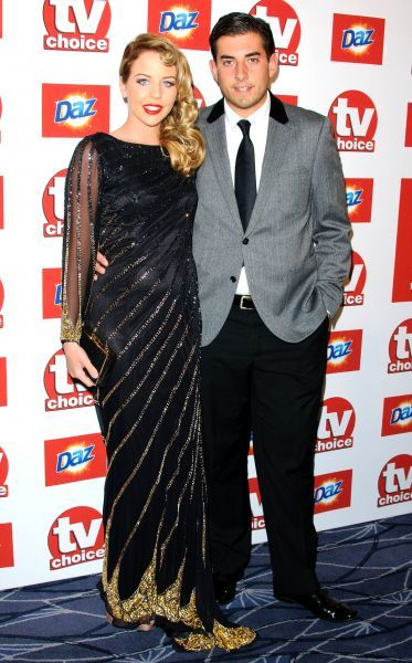 Lydia Bright and James Argent at the TV Choice Awards 2011 at the Savoy Hotel in London - 13 September 2011 FAMOUS PICTURES AND FEATURES AGENCY 13 HARWOOD ROAD LONDON SW6 4QP UNITED KINGDOM tel 0 fax 0 e-mail  FAM42425
