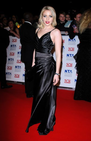 Lydia Rose Bright at the National Television Awards held at the O2 Arena in London - 25 January 2012 FAM43763