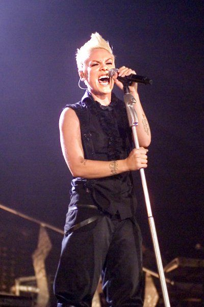 Pink live at Glasgow SECC in Scotland - 23 November 2006 FAMOUS PICTURES AND FEATURES AGENCY 13 HARWOOD ROAD LONDON SW6 4QP UNITED KINGDOM tel +44 (0) 20 7731 9333 fax +44 (0) 20 7731 9330 e-mail info@famous.uk.com www.famous.uk.com FAM19112