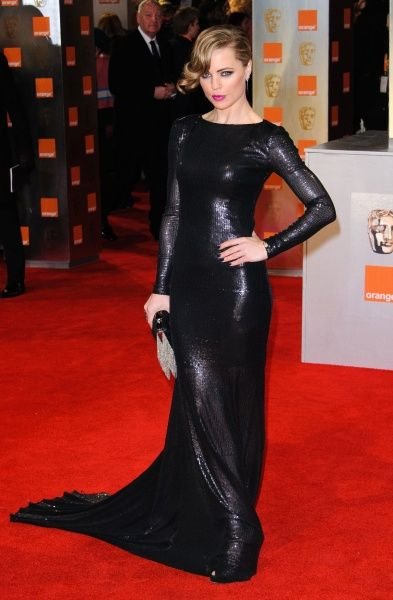 Melissa George at the Orange British Academy Film Awards (aka the BAFTAs) held at the Royal Opera House in London - 12 February 2012 FAM43922