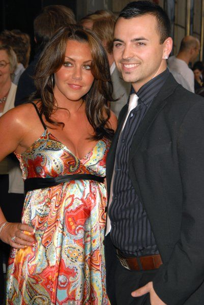 "Michelle Heaton and Andy Scott Lee at the ""Wicked"" cast change VIP press night at the Apollo Victoria in London - 12 April 2007 FAMOUS PICTURES AND FEATURES AGENCY 13 HARWOOD ROAD LONDON SW6 4QP UNITED KINGDOM tel 0 fax 0 e-mail FAM20032"