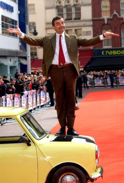 Mr Bean at the UK Premiere of Mr Bean's Holiday at the Odeon Leicester Square in London - 25 March 2007 FAM19895