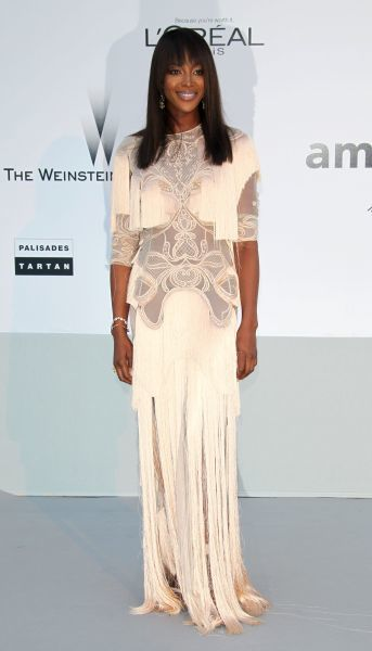 Naomi Campbell at amfAR's Cinema Against Aids Gala at the Cannes Film Festival - 19 May 2011 FAMOUS  PICTURES AND FEATURES AGENCY  13 HARWOOD ROAD LONDON SW6 4QP  UNITED KINGDOM  FAM41413