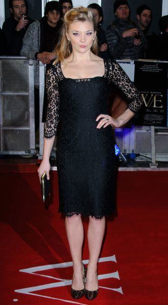 Natalie Dormer at the gala premiere of 'W.E' in London - 11 January 2012FAM43646