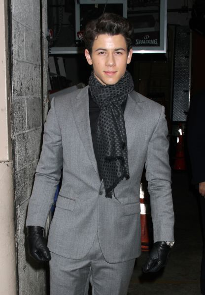 Nick Jonas at LIVE! With Kelly in New York City - 26 January 2012FAM43770