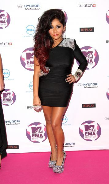 Nicole Polizzi aka Snooki at the MTV Europe Music Awards held at the Odyssey Arena in Belfast - 06 November 2011 FAMOUS PICTURES AND FEATURES AGENCY 13 HARWOOD ROAD LONDON SW6 4QP UNITED KINGDOM tel 0 fax 0 e-mail  FAM43091
