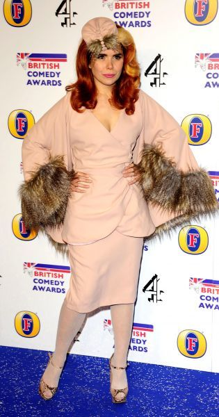 Paloma Faith at the British Comedy Awards at Fountain Studios in London - 16 December 2011  13 HARWOOD ROAD LONDON SW6 4QP UNITED KINGDOM  FAM43543