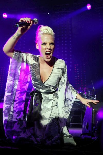 Pink live at Radio 1's Big Weekend at Camperdown Park in Dundee - 14 May 2006 FAM17591