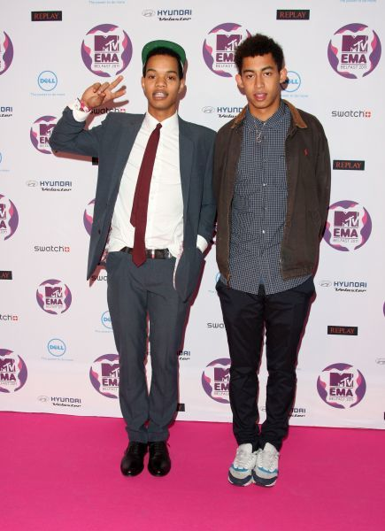 Rizzle Kicks at the MTV Europe Music Awards held at the Odyssey Arena in Belfast - 06 November 2011 FAMOUS PICTURES AND FEATURES AGENCY 13 HARWOOD ROAD LONDON SW6 4QP UNITED KINGDOM tel 0 fax 0 e-mail FAM43091