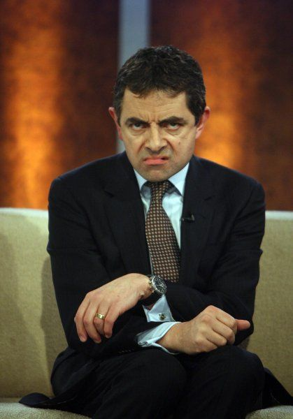 "Rowan Atkinson appearing live on ""Wetten, dass..'"" at the Red House Arena in Freiburg, Germany - 31 March 2007 FAMOUS PICTURES AND FEATURES AGENCY 13 HARWOOD ROAD LONDON SW6 4QP UNITED KINGDOM tel +44 (0) 20 7731 9333 fax +44"