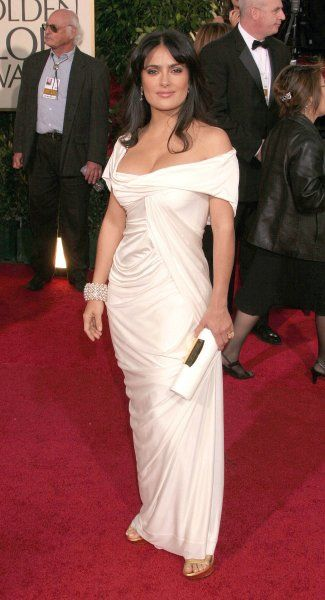 Salma Hayek at the 64th Golden Globe Awards held at the Beverly Hilton Hotel in Los Angeles - 15 January 2007 FAMOUS PICTURES AND FEATURES AGENCY 13 HARWOOD ROAD LONDON SW6 4QP UNITED KINGDOM tel +44 (0) 20 7731 9333 fax +44 (0) 20 7731 9330