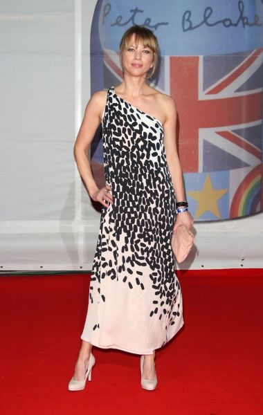 Sara Cox at The Brit Awards held at the O2 Arena in London - 21 February 2012FAM44043