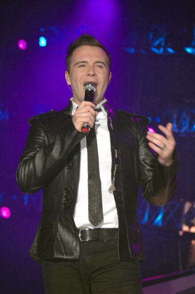 "Shane Filan of Westlife performing live on their ""The Love 2007"" tour at the SECC & Clyde Auditorium (The Armadillo) in Glasgow - 06 April 2007 FAMOUS PICTURES AND FEATURES AGENCY 13 HARWOOD ROAD LONDON SW6 4QP UNITED KINGDOM tel +44"