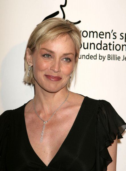 Sharon Stone at The Billie Awards held at The Beverly Hilton Hotel in Los Angeles - 11 April 2007 FAMOUS PICTURES AND FEATURES AGENCY 13 HARWOOD ROAD LONDON SW6 4QP UNITED KINGDOM tel 0 fax 0 e-mail FAM20026