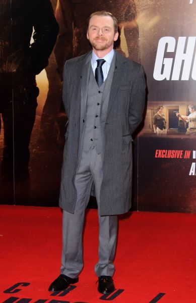 Simon Pegg at the premiere of 'Mission: Impossible - Ghost Protocol' in London - 13 December 2011 FAM43513