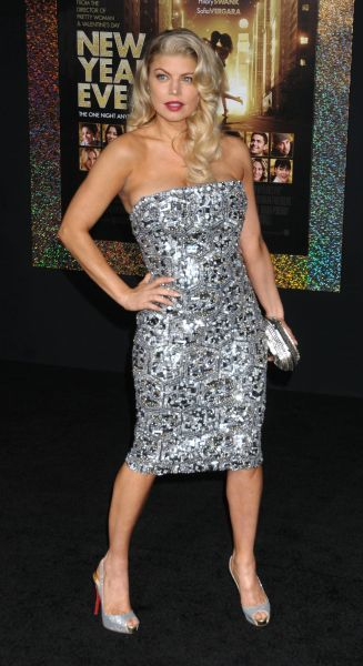 Stacey Ferguson aka Fergie at the World premiere of 'New Year's Eve' held at Grauman's Chinese Theater in Hollywood, Los Angeles - 05 December 2011 FAMOUS  PICTURES AND FEATURES AGENCY  13 HARWOOD ROAD LONDON SW6 4QP  UNITED KINGDOM  FAM43434