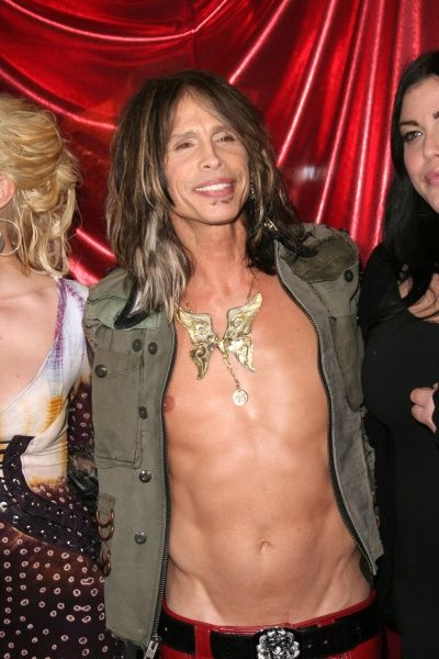 Steven Tyler of Aerosmith at his Memorabilia Window Unveiling at the Hard Rock Hotel and Casino in Las Vegas - 27 April 2007 FAMOUS PICTURES AND FEATURES AGENCY 13 HARWOOD ROAD LONDON SW6 4QP UNITED KINGDOM tel 0 fax 0 e-mail FAM20365