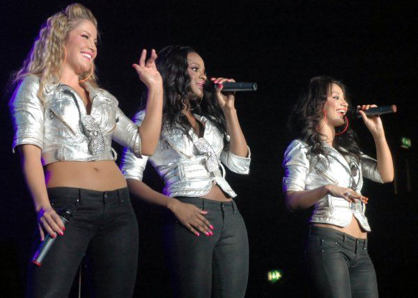 Heidi Range, Keisha Buchanan and Amelle Berrabah of The Sugababes performing live at the Wembley Arena in Middlesex - 13 April 2007 FAMOUS PICTURES AND FEATURES AGENCY 13 HARWOOD ROAD LONDON SW6 4QP UNITED KINGDOM tel +44 (0) 20 7731 9333 fax +44