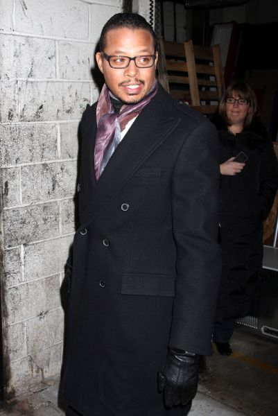 Terrence Howard at at LIVE! with Kelly in New York City - 03 January 2011FAM43592