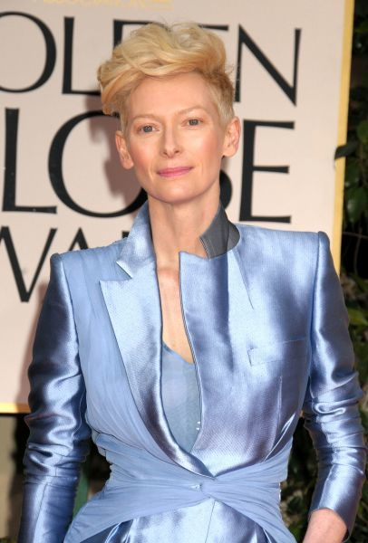 Tilda Swinton at the 69th Annual Golden Globe Awards presented by the Hollywood Foreign Press Association at Hotel Beverly Hilton in Los Angeles - 15 January 2012   FAM43673