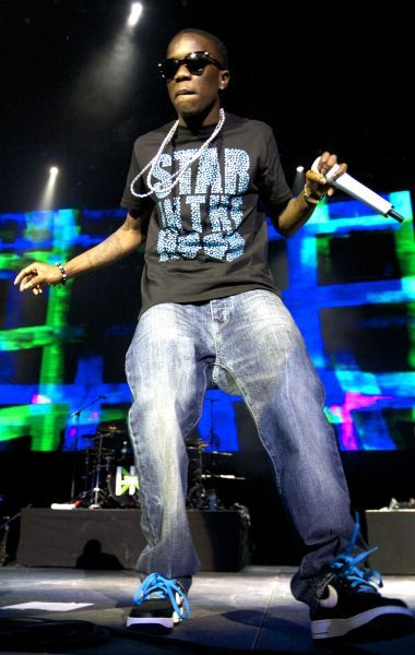 Tinchy Stryder at Rock Assembly at the O2 in London - 20 July 2011FAM41967