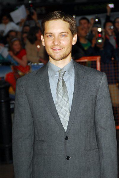 "Toby Maguire arriving at the ""Spider-Man 3"" Premiere held at the Odeon Leicester Square, London - 23 April 2007 FAMOUS PICTURES AND FEATURES AGENCY 13 HARWOOD ROAD LONDON SW6 4QP UNITED KINGDOM tel +44 (0) 20 7731 9333 fax +44 (0)"
