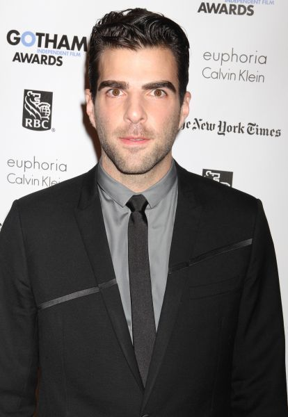 Zachary Quinto at IFP's 21st annual Gotham Independent Film awards at Cipriani, Wall Street in New York City - 28 November 2011   FAM43356